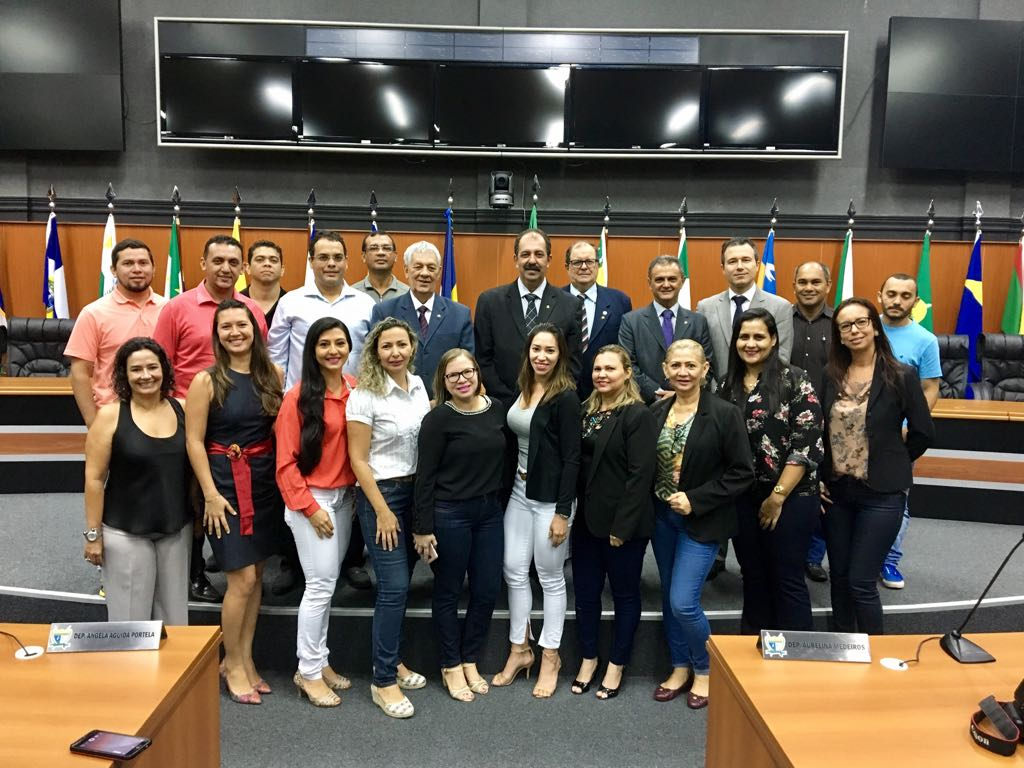 Visita da diretoria da Fenale à Assembleia Legislativa de Roraima