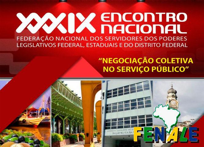 PROGRAMAÇÃO OFICIAL DO XXXIX ENCONTRO NACIONAL DA FENALE – BELÉM (PA)