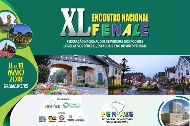 Fenale realiza seu XL encontro Nacional em Gramado / RS