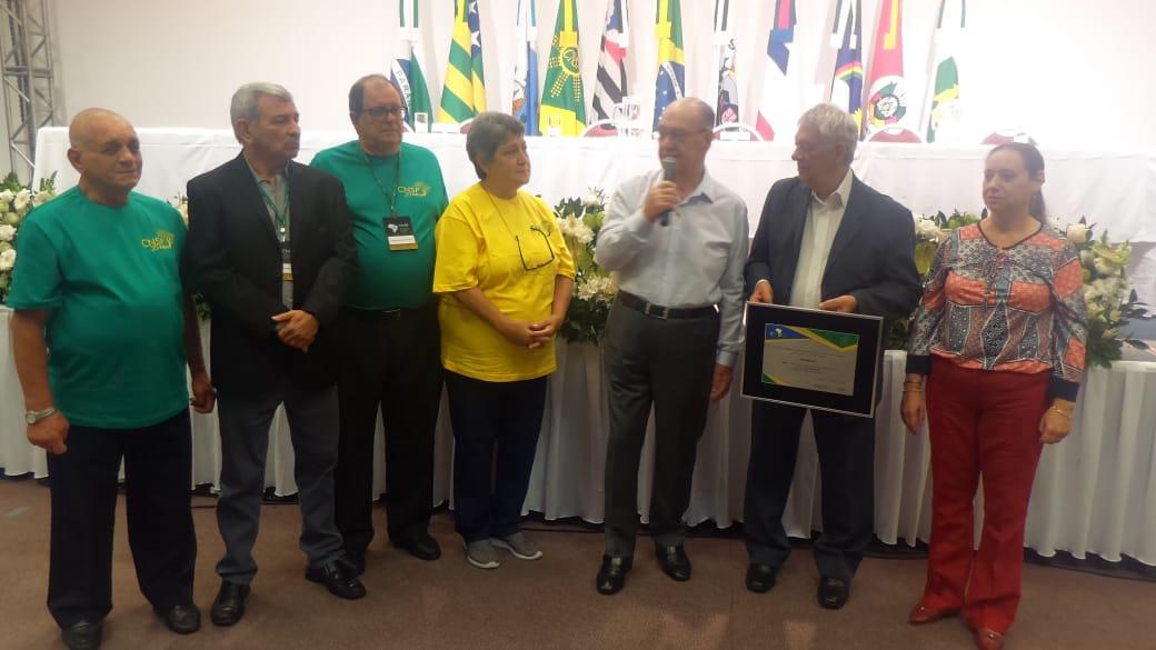 Fenale entrega placa em homenagem aos 25 anos da CNSP