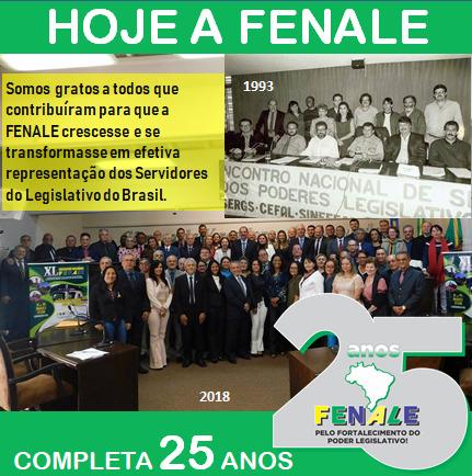FENALE 25 ANOS