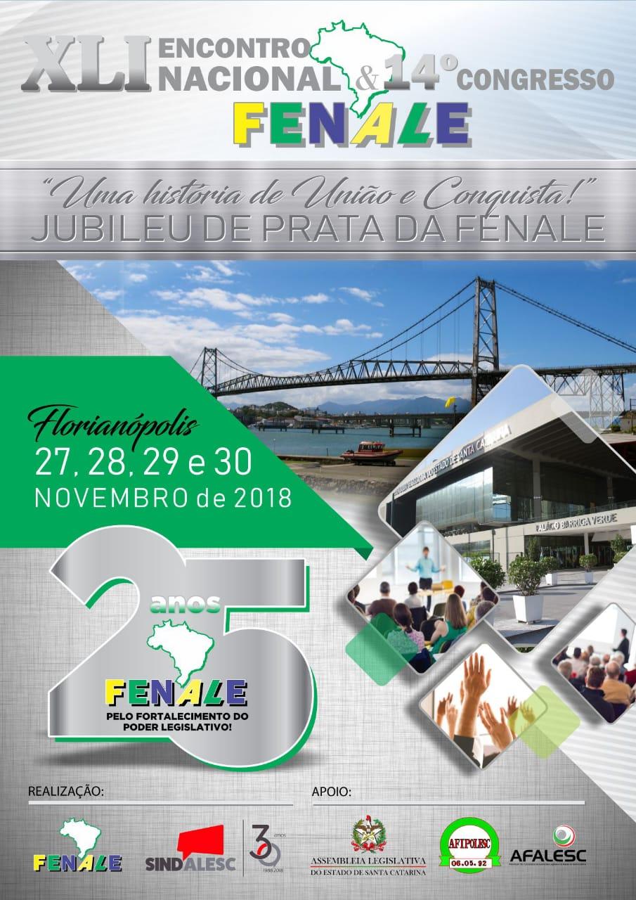 XLI Encontro Nacional Fenale - 14° Congresso