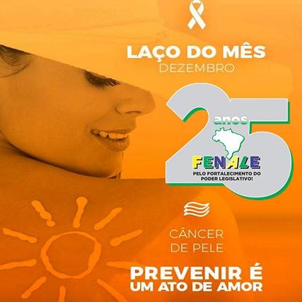 Dezembro, mês da prevenção ao câncer de pele.