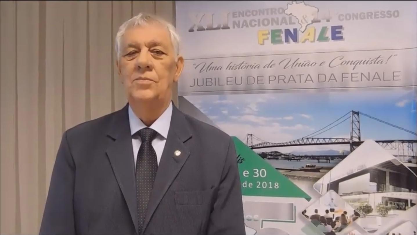 Mensagem do nosso presidente José  Eduardo Rangel – FENALE – FEDERAÇÃO NACIONAL DOS SERVIDORES DOS PODERES LEGISLATIVOS FEDERAL