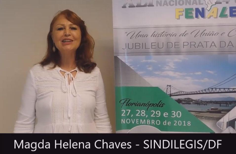 Depoimento de Magda Helena Tavares Chaves