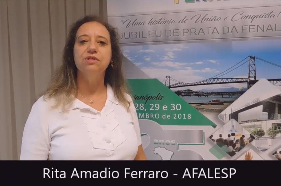 Depoimento de Rita Amadio de Brito Andrade Ferraro