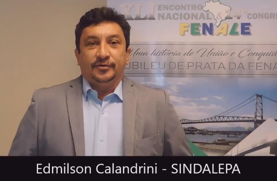 Depoimento Edmilson Calandrini SINDALEPA