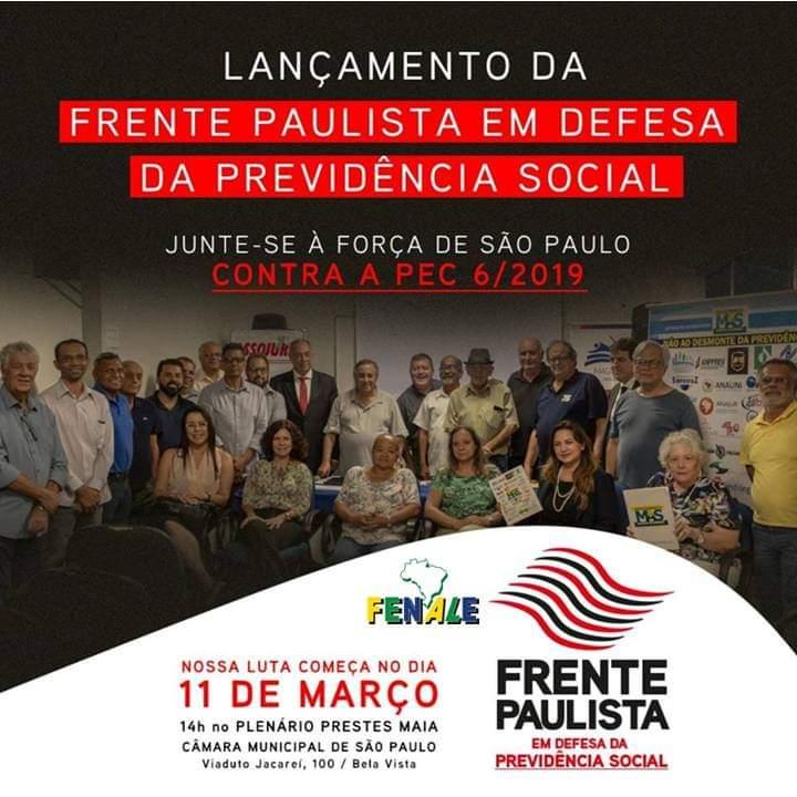 Frente Paulista em Defesa da Previdência social