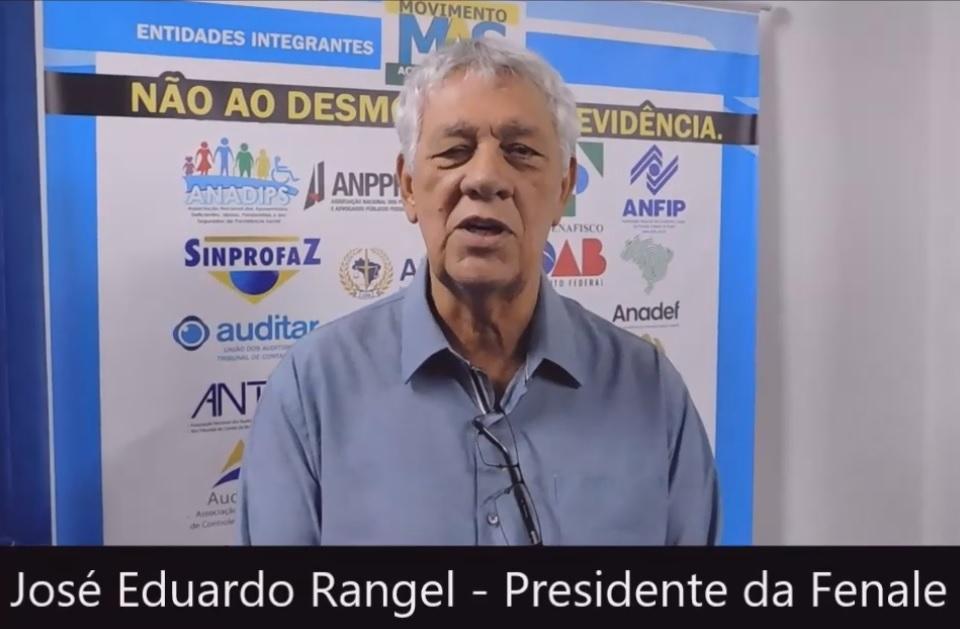 José Eduardo Rangel, presidente da Fenale – Pré-Lançamento da Frente Paulista em Defesa da Previdência – 22/2/2019