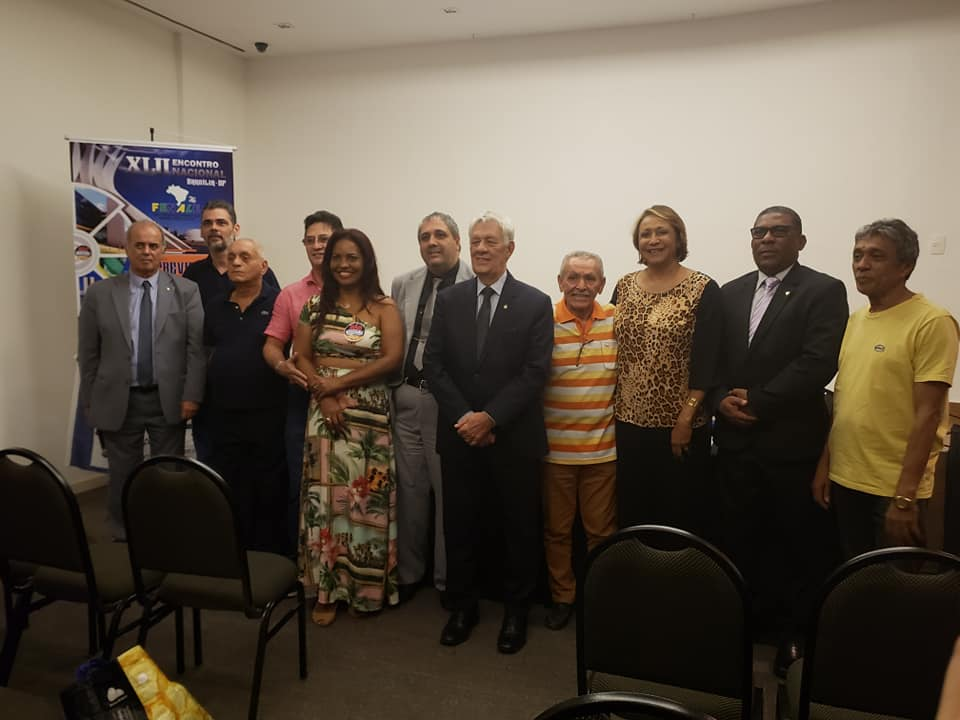 Novos Diretores eleitos em Assembleia Geral durante o XLII ENCONTRO NACIONAL DA FENALE