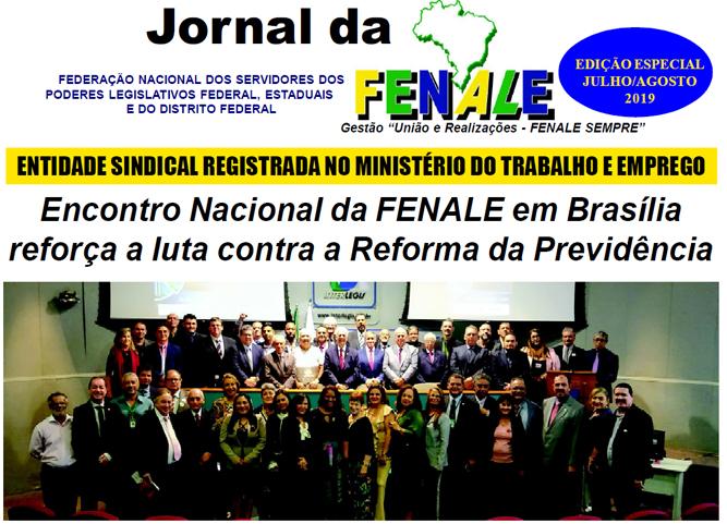 Jornal da Fenale – EDIÇÃO ESPECIAL JULHO / AGOSTO 2019