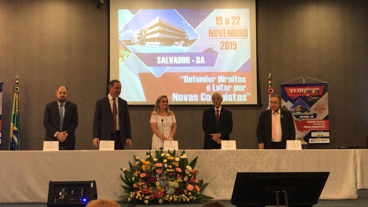 FENALE defende a valorização do Serviço Público em seu XLIII Encontro Nacional em Salvador