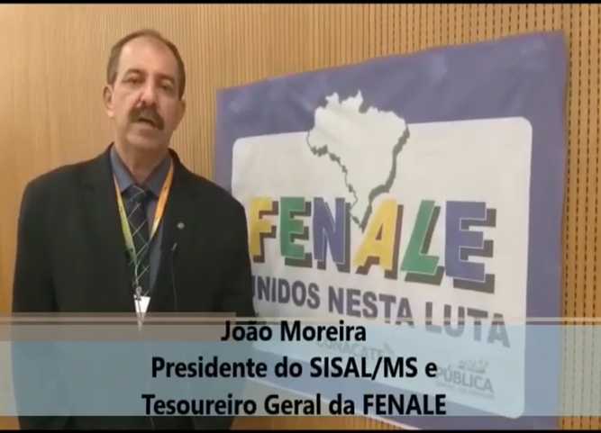 João Moreira, Presidente do SISALMS e Tesoureiro Geral da FENALE, fala sobre a reforma administrativa e o desmonte do serviço público