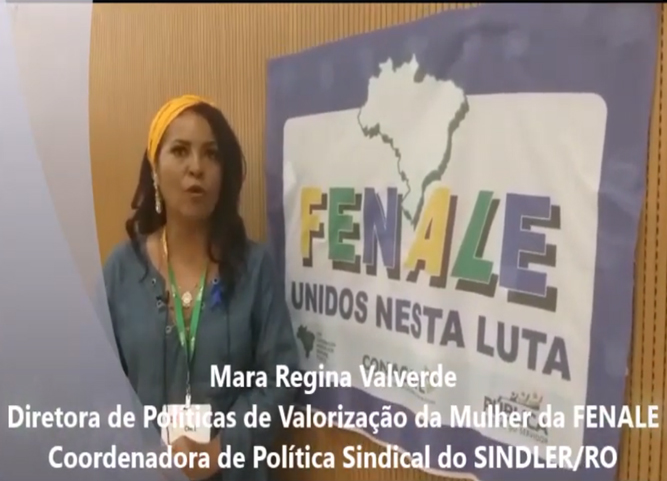 Mara Valverde, diretora do SINDLER/RO, fala sobre a reforma administrativa e o desmonte do serviço público