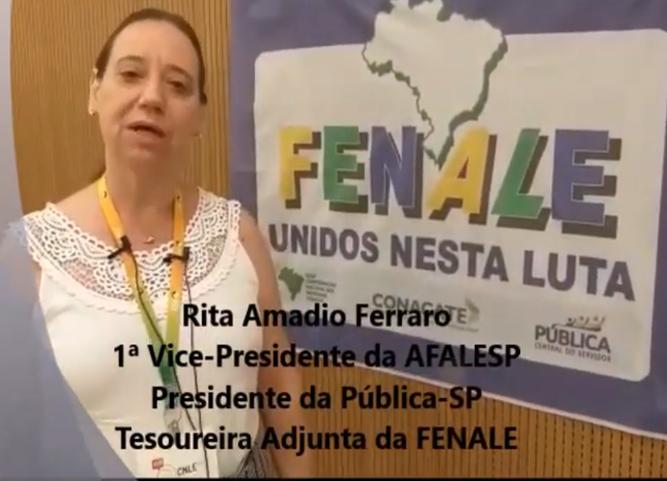 Rita Amadio Ferraro fala sobre a reforma administrativa e o desmonte do serviço público