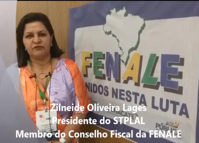 Zilneide Oliveira Lages fala sobre a reforma administrativa e o desmonte do serviço público