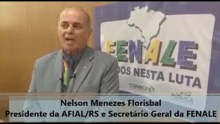 Presidente da AFIAL/RS  e Secretário Geral da FENALE, fala sobre a reforma administrativa e o desmonte do serviço público
