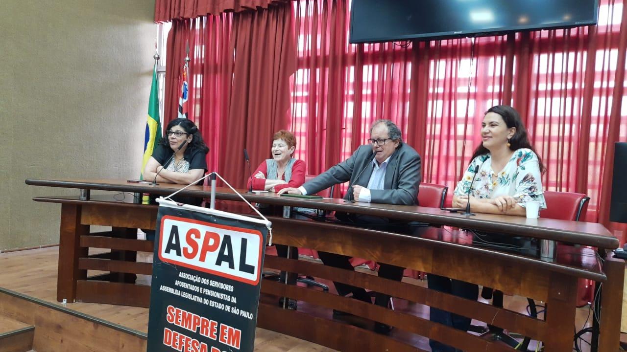 Reunião dos aposentados da Alesp