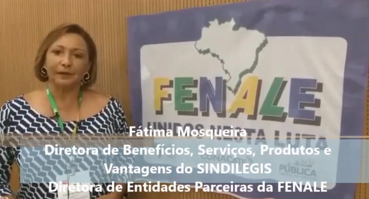 Fátima Mosqueira, Diretora de Benefícios, Serviços, Produtos e Vantagens do SINDILEGIS