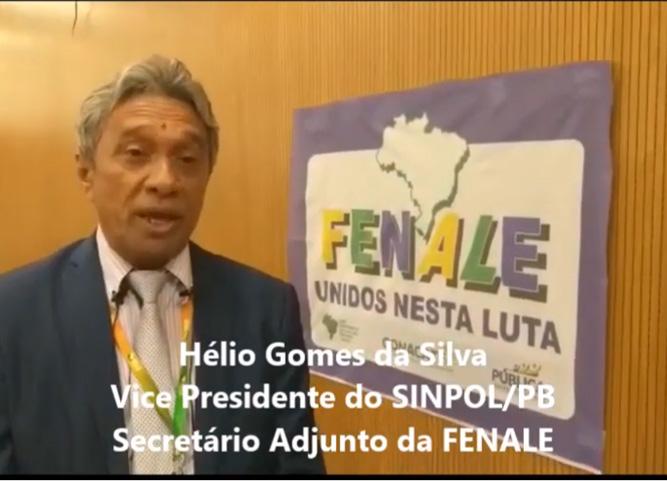 Hélio Gomes da Silva, fala sobre a Reforma Administrativa e o desmonte do serviço público.