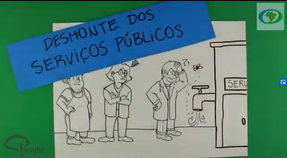 Campanha da Frente Parlamentar Mista do Serviço Público em defesa dos servidores