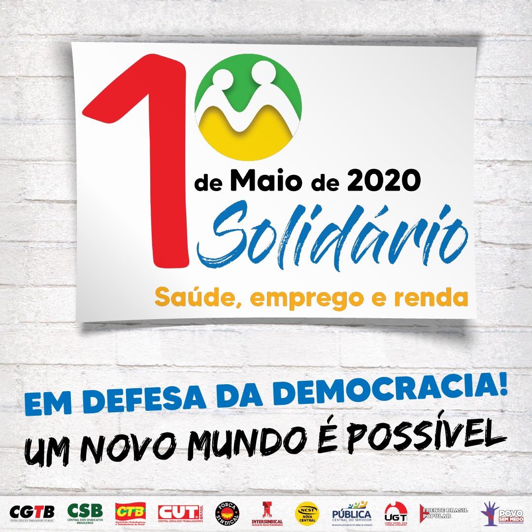 Live do Trabalhador das Centrais Sindicais terá artistas de todo Brasil no 1º de maio